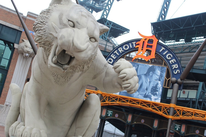 Generations of Tigers fans went to the historical Tiger stadium which was located at the corner of Michigan and Trumbull Avenues. It was sad to say goodbye to the home of the Tigers since 1912, but Comerica Park, a $300 million ballpark located on Woodward Avenue with its open air stadium is absolutely breathtaking.